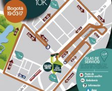 CONOCE EL RECORRIDO OFICIAL LA NIGHT RACE 10K 2017