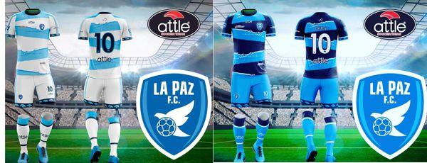 ATTLE PROVEE LOS NUEVOS UNIFORMES DE LA PAZ F.C.