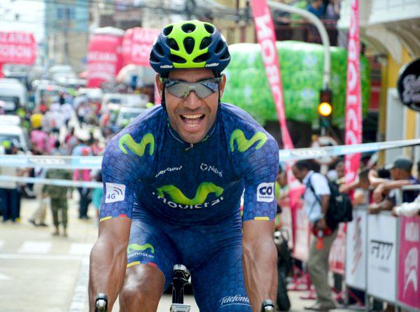 Omar Mendoza Vuelta Colombia 3