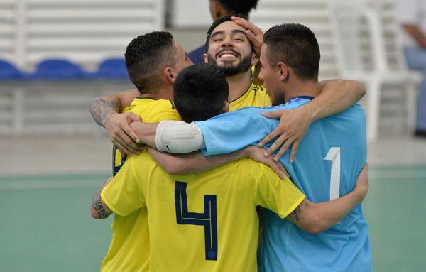 Oro en Futsal