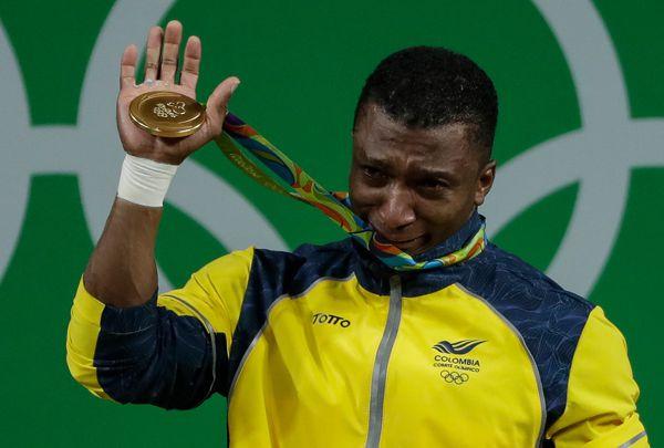 Oscar Figueroa oro olímpico