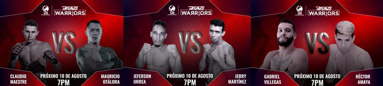 Otalora Vs Maestre 10 de agosto BRAVE Warriors (1)