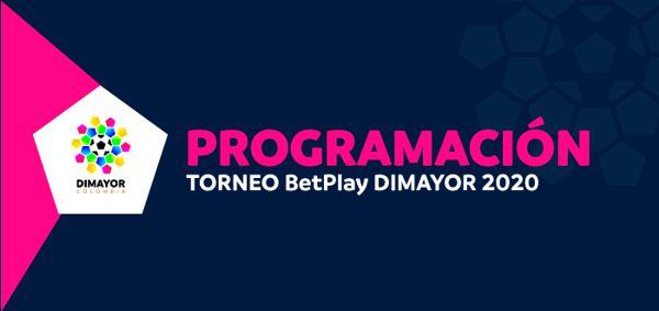 PROGRAMACIÓN FECHA 1 CUADRANGULARES SEMIFINALES TORNEO BETPLAY DIMAYOR 2020