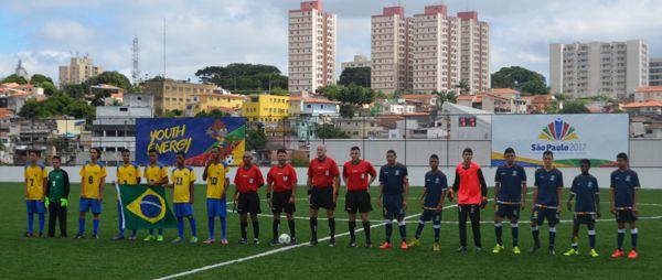 Parapanamericanos Colombia vs Brasil fútbol