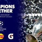 PEPSICO Y LA LIGA DE CAMPEONES DE LA UEFA CONTINÚAN SU ALIANZA GLOBAL HASTA 2024