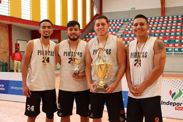 PIRATAS CAMPEÓN DEL TORNEO NACIONAL DE FIBA 3X3