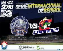 PLAYBALL! TIGRES DEL LICEY VS CAIMANES DE BARRANQUILLA