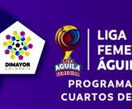 PROGRAMACIÓN CUARTOS DE FINAL LIGA FEMENINA ÁGUILA 2017