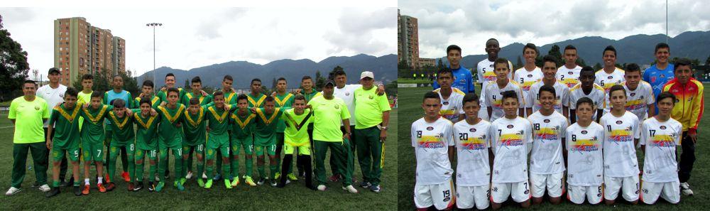 Quindio y Bogotá clasificados