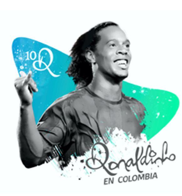 VISITA DE RONALDINHO A COLOMBIA TIENE NUEVA FECHA…
