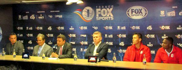 Rueda de prensa Fox