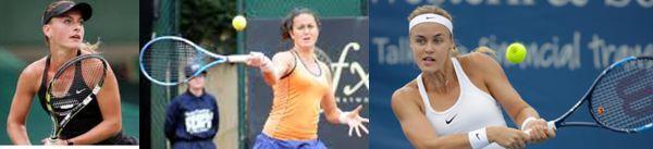 Rumana Bogdan, Española Arruabarrena Y Eslovaca Schmiedlova, Semifinalistas