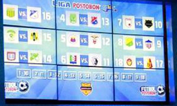 CALENDARIO DE FÚTBOL COLOMBIANO 2014