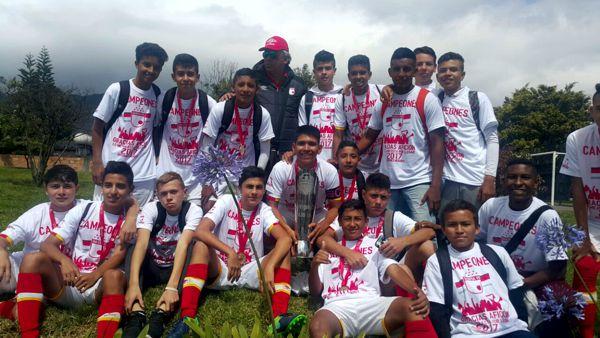 Santa Fe campeón sub 16 2017