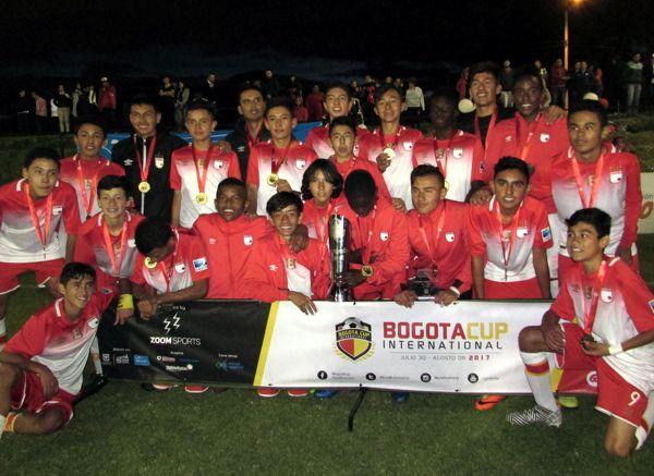 Santa Fe campeon sub 14