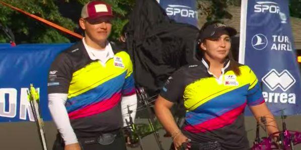 SARA LÓPEZ Y DANIEL MUÑOZ LE DAN A COLOMBIA EL SEGUNDO ORO EN EL MUNDIAL DE ARQUERÍA