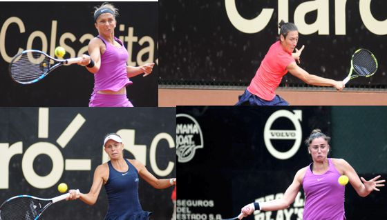 Sara S, Schiavone, Linette y S Torno