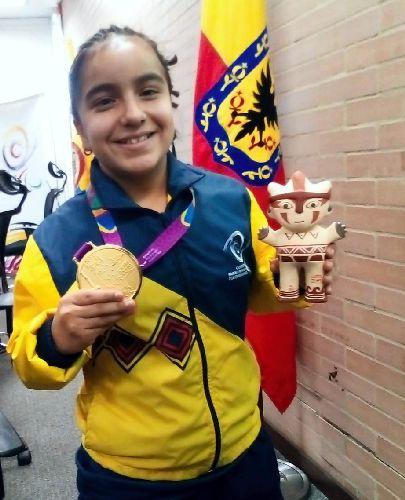Sara Vargas en Comité Paralímpico