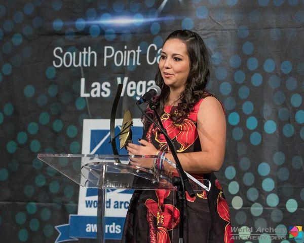 Sara lópez Mejor Arquera 2015 Wold Archery