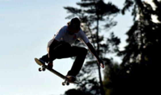 Sckateboarding Panamericano en Bogota