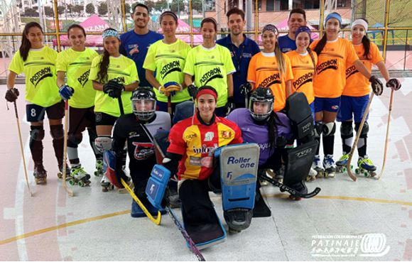 Sel Femenina Hockey Patin