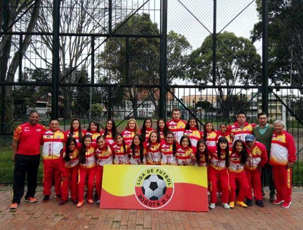 Sel Infantil Femenina fútbol