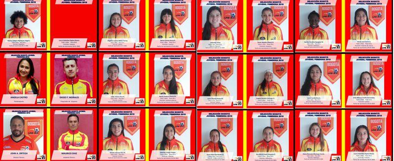 Selección Bogotá Juvenil clasificatorio 2018