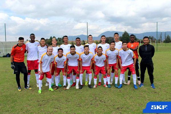 Selección Bogotá Prejuvenil campeona SKF 2019