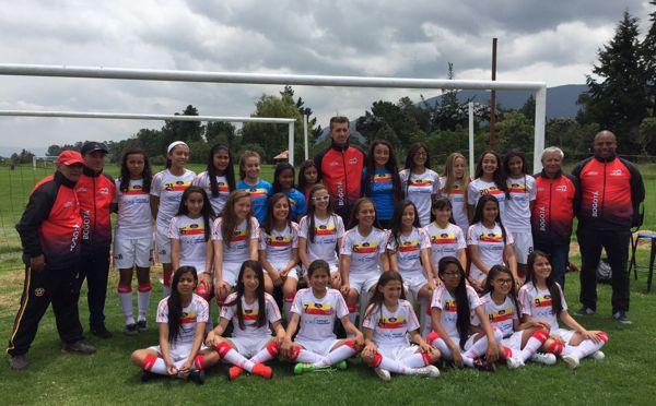 Selección Bogota Infantil Femenina Clasificatorio Nal