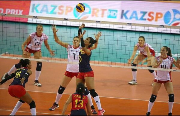 Selección Col Voleibol triunfa en Grand Prix