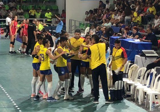 Selección Col. Voleibol su primer triunfo centroamericanos