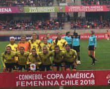 SELECCIÓN FEMENINA SIGUE INVICTA EN LA COPA AMÉRICA DE CHILE