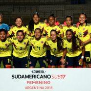 SELECCIÓN COLOMBIA DEBUTÓ CON VICTORIA EN SUDAMERICANO SUB-17