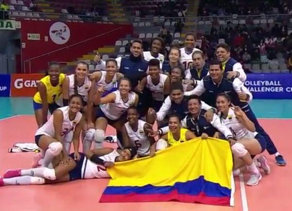 Selección Colombia Voleibol cupo a la final