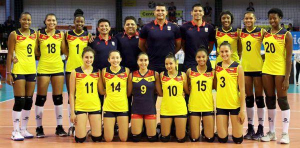Selección Colombia Voleibol en Argentina