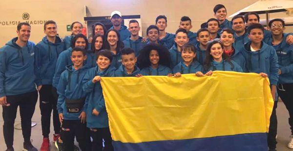 Selección Colombia de Squash juvenil a Cochabamba