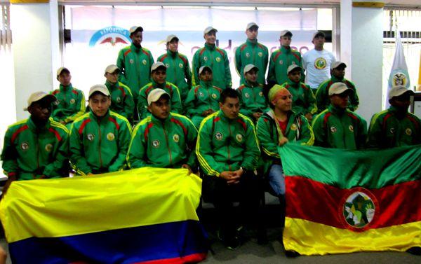 Selección Indígena viajó a Chile