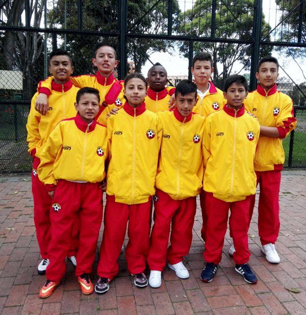 Selección Infantil Bogotá del torneo La Gaitana