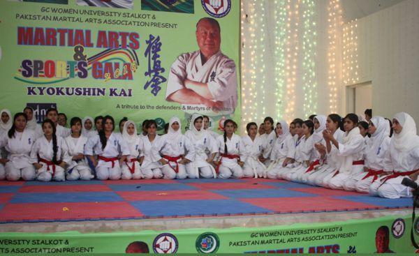 Selección artes marciales mixtas Pakistan