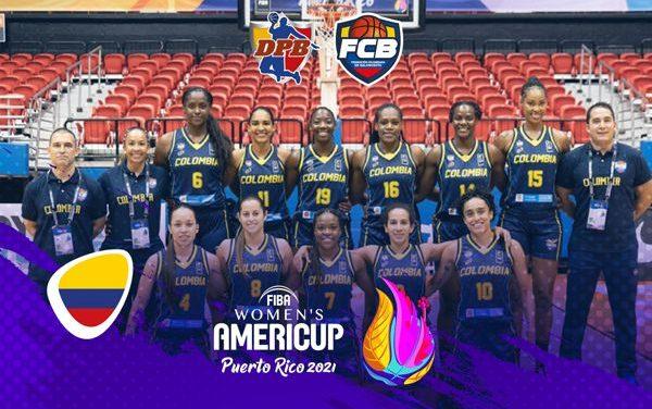 SELECCIÓN COLOMBIA DE BALONCESTO FEMENINO EN LA FIBA WOMEN´S AMERICUP