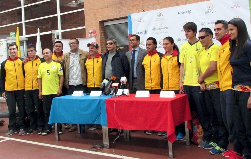 Selección colombia limitados visuales fútbol
