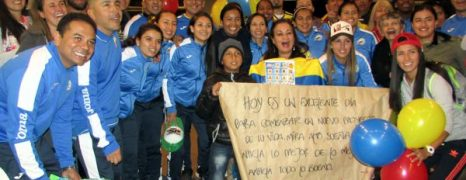 VIAJÓ LA SELECCIÓN COLOMBIA FEMENINA DE FÚTBOL DE SALÓN A DEFENDER EL TÍTULO EN EL TERCER CAMPEONATO MUNDIAL QUE SE LLEVARÁ A CABO EN CATALUÑA