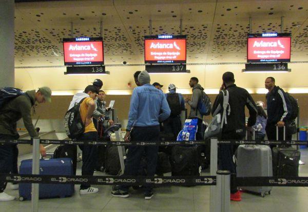 Selección rumbo a Medellín