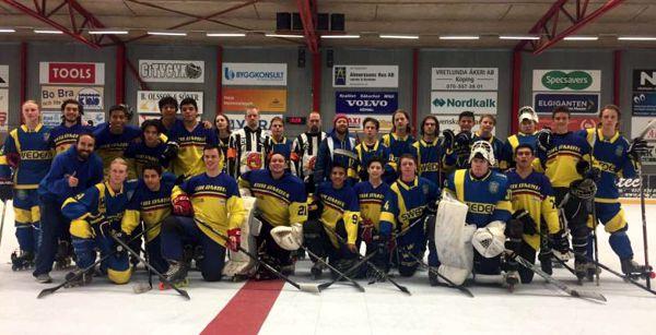 Seleccion Col Hockey en Europa