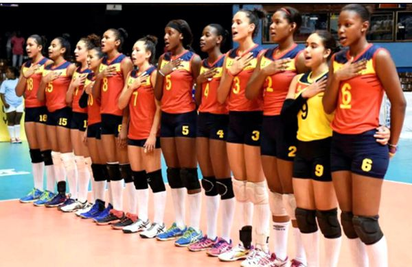 Seleccion Col Voleibol Campeona Panamericana