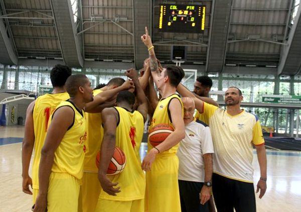 Seleccion Colombia Baloncesto eliminatoria Brasil