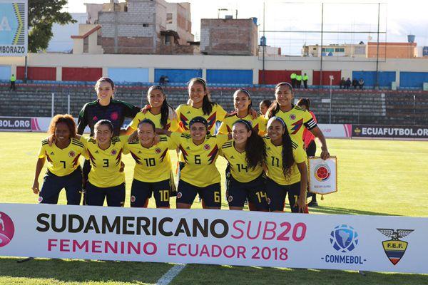 Seleccion Colombia Sudamericano sub 20 Ecuador