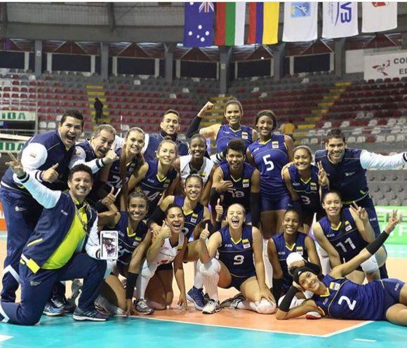 Seleccion Colombia Voleibol y semifinales