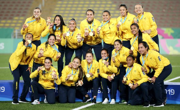 Seleccion colombia femenina oro