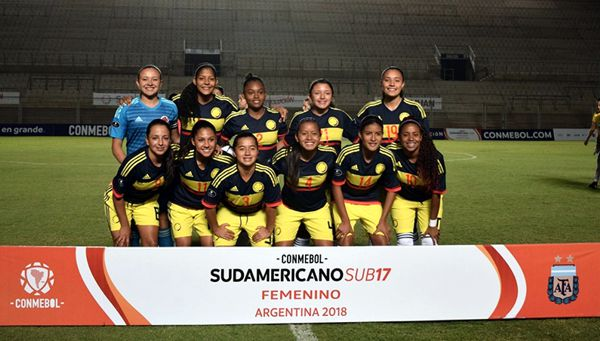 Seleccion femenina sub 17 - argentina